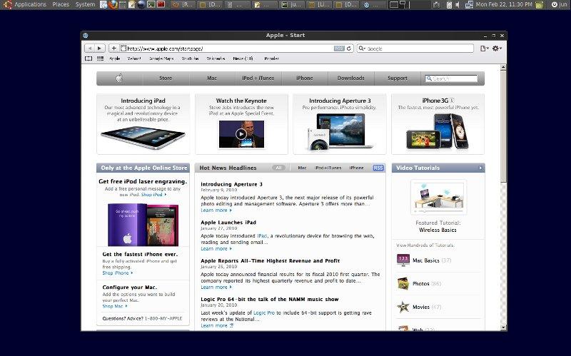 Many browsers on fedora (safari and ie) bogomil shopov.