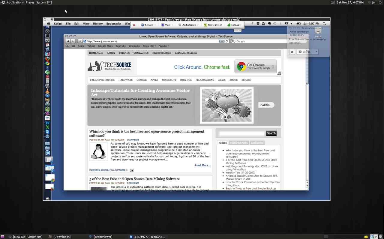 How to install and use teamviewer on ubuntu 10 10 pdxcoder